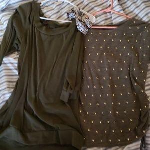 2 shirt bundle !!